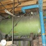 boiler with asbestos